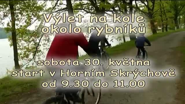 Pozvánka na Cyklovýlet okolo rybníků