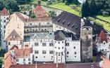 Státní hrad a zámnek_letecký