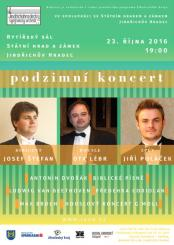 Kocert Jindřichohradeckého symfonického orchestru