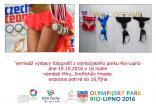 Vernisáž fotografií z olympijského parku Rio-Lipno 2016